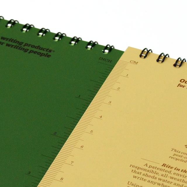 rite in the rain ライトインザレイン 全天候防水 4x6 ノートブック