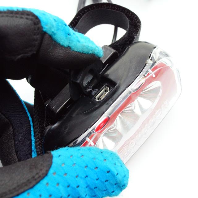 &MOTION VIS360 + 充電式自転車用LED ...