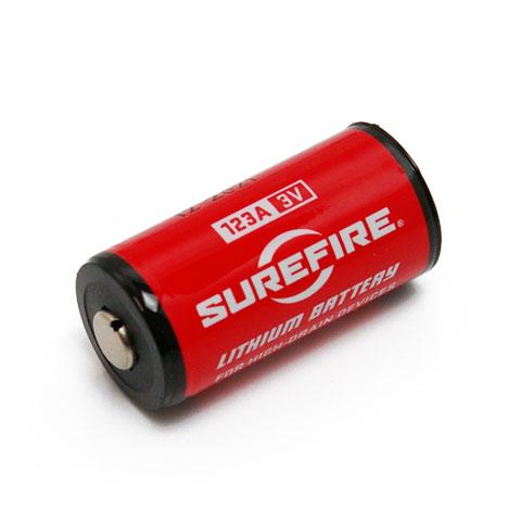 surefire シュアファイア sf 123a lithium batteries cr123リチウム