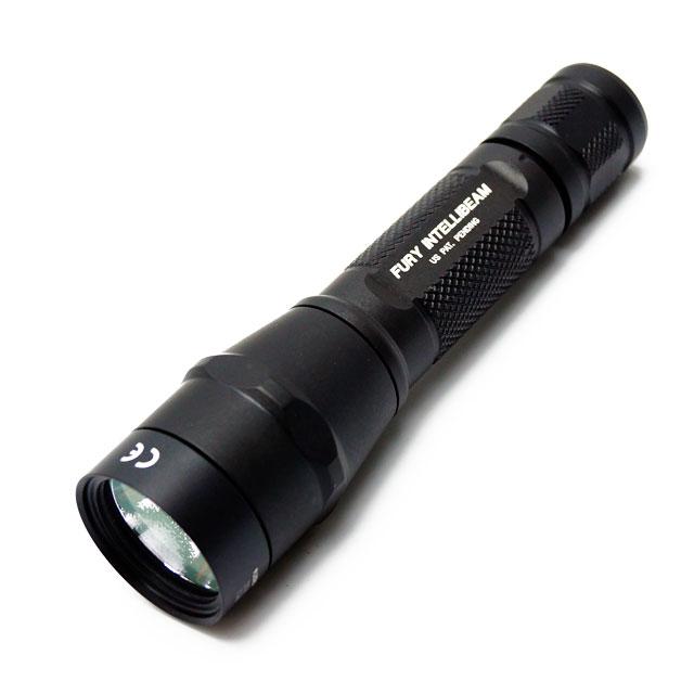 Surefire P2XIB-A-BK P2X Fury Intellibeam 600 Lumen LED Flashlight