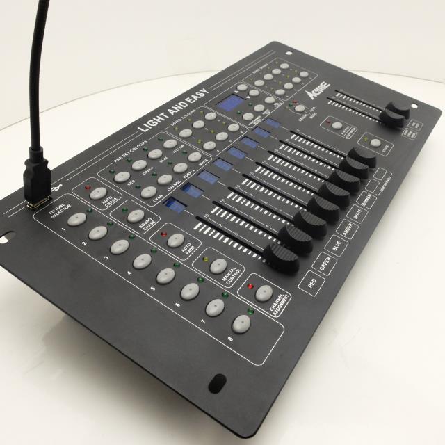 Acme Led 0808 Light Amp Easy 8フェーダーdmxコントローラー 激安価格販売:アカリセンター